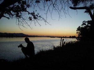 Reizen - ZaZoe Xperience - zonsondergang Zambia