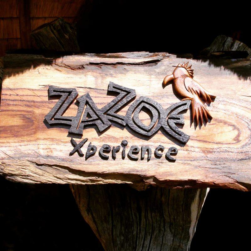Lodge ZaZoe Xperience - naambord